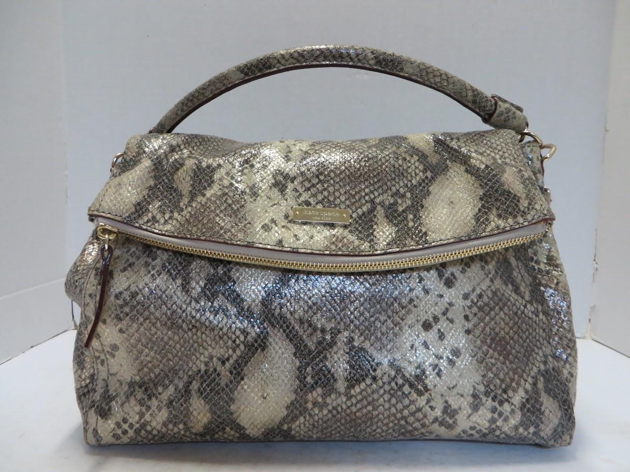 Kate Spade Faux Snakeskin Bag
