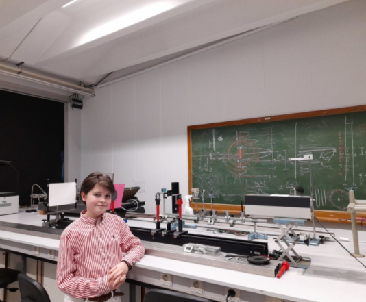 11-year-old boy earns physics degree at Antwerp University while taking master's courses on the side