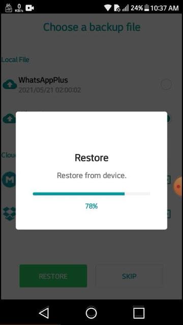 Easy way to move from WhatsApp to GBWhatsApp, YoWhatsApp, WhatsApp Plus without data loss