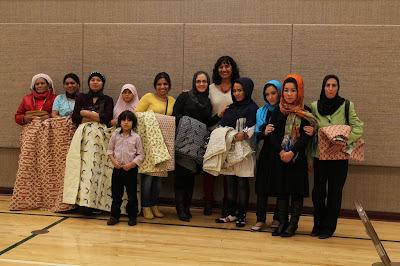 Quilters Without Borders - Refugee Women Quilting in Utah