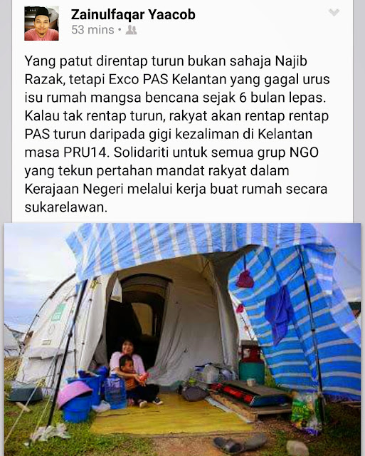 Sudah-sudah La Fitnah Kerajaan Pas Kelantan