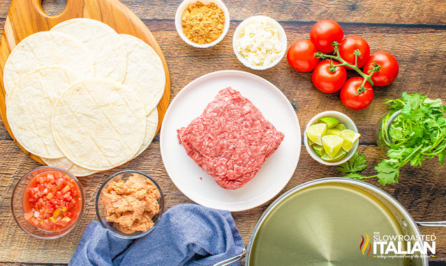 Chalupa recipe ingredients