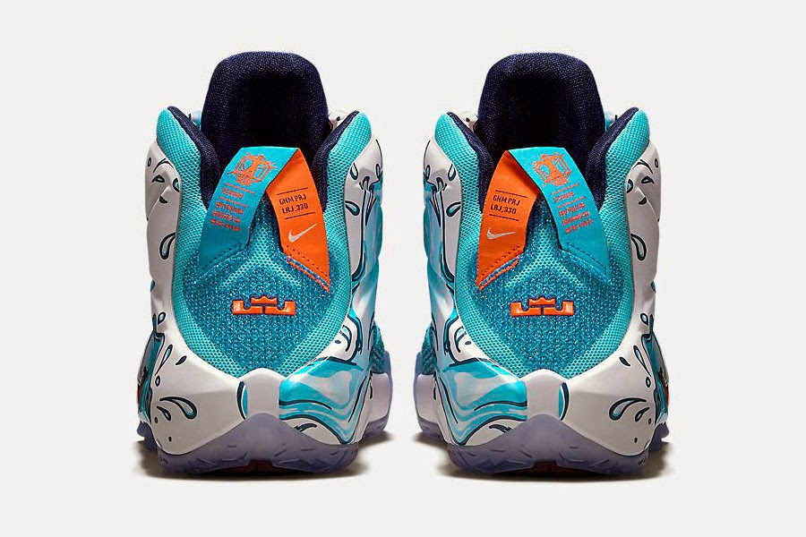 feb1ac8c47 Available Now Kids8217 Exclusive Nike LeBron 12 GS 8220Buckets8221 ...
