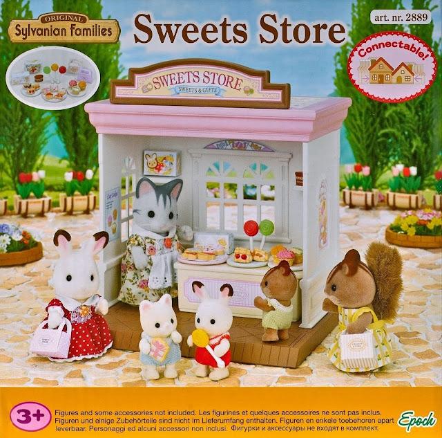 Bao bì đẹp mắt của sản phẩm Cửa hàng bánh ngọt Sweets Store Sylvanian