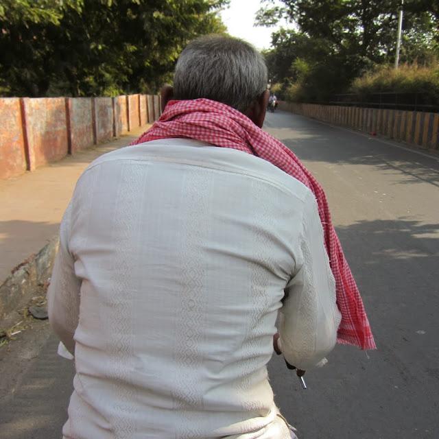 Ratan, bicyckle rickshaw driver, Agra
