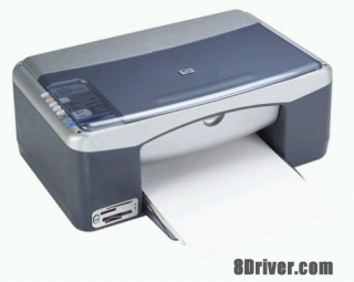 Free download HP PSC 1350 All-in-One Printer driver and install