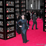 WWW.ENTSIMAGES.COM -   Arlene Phillips  at      The Olivier Awards at Royal Opera House, Covent Garden, London, April 28th 2013                                               Photo Mobis Photos/OIC 0203 174 1069