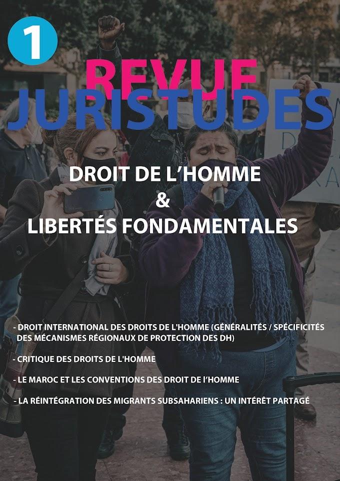 Droit de l'Homme & libertés fondamentales — pdf Revue Juristudes № 1