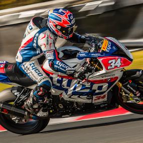 Alistair Seeley by Mike Ellis - Sports & Fitness Motorsports ( superbike, bsb, motorcycle )