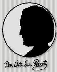 Dom Antoine Joseph Pernety Portrait, Dom Antoine Joseph Pernety