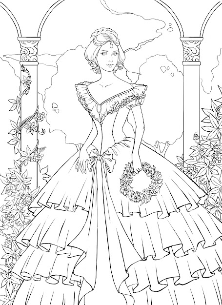 Beautiful Coloring Pages To Print So You Can Slowy Finsish Coloring In  Year Im So