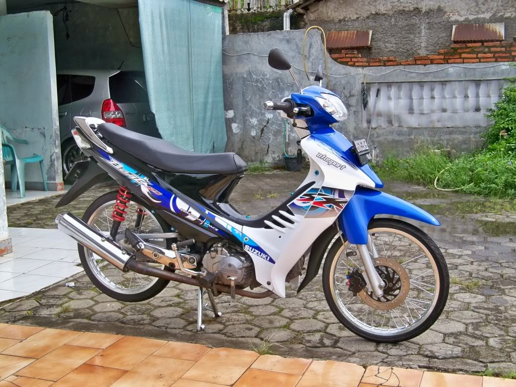 Jupiter Z Modifikasi Racing Look