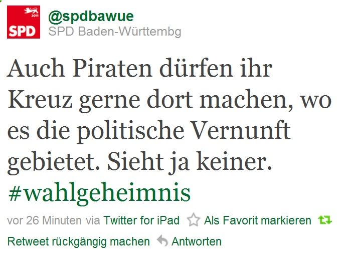 SPD Tweet