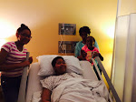 """MELISSA in hospice with mom and kids.  Years earlier she tells her elder daughter, Hosanna about traveling to Fiji one day. Hosanna, even at that age, knew """"it wasn"""