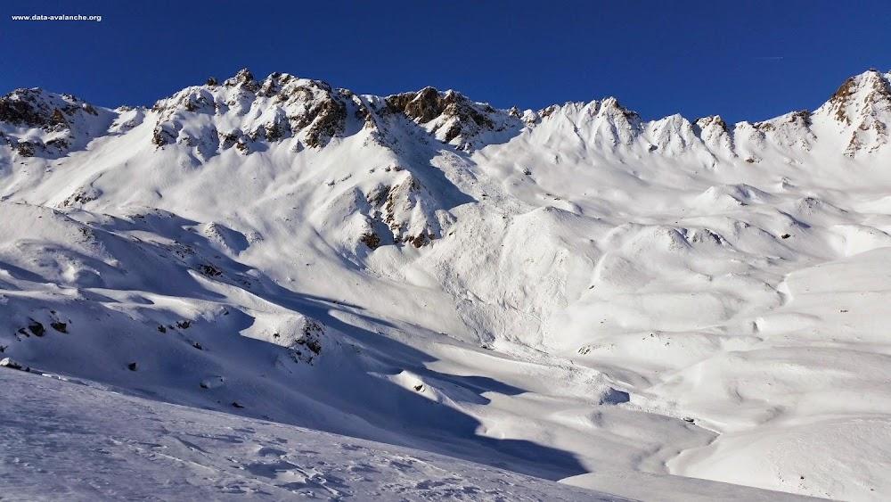 Avalanche Haute Tarentaise, secteur Val d'Isère, Rochers du Génépy - Photo 1