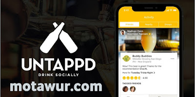 Untappd - أفضل تطبيقات أندرويد 2021