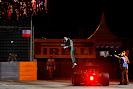 Kamui Kobayashi jumps out of his Caterham CT05