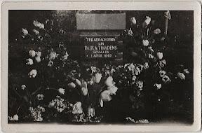 Gedenksteen voor Dr. H.A. Thiadens