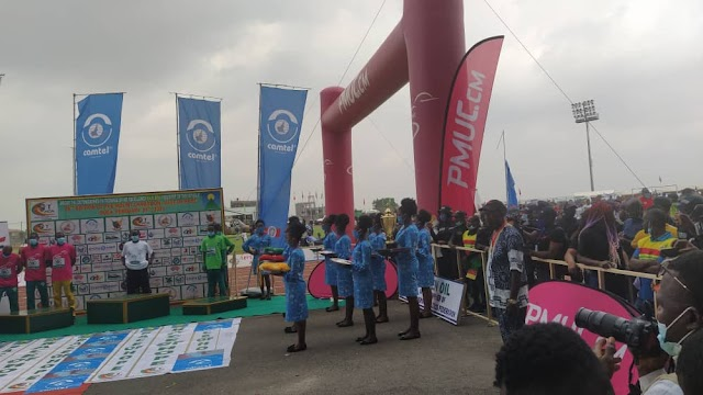 CAMTEL stands tall at Mount Cameroon race of hope, supports Buea DDR Centre