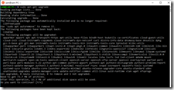 Linux subsystem for Windows 4