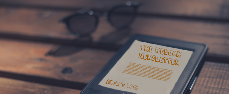 The WEbook Newsletter - August 2015
