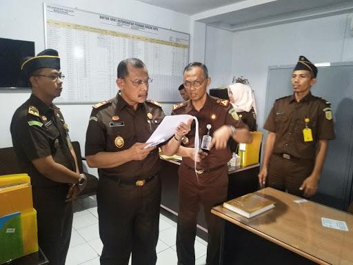 Kunker, Kajati Sulsel Cek Kejari Makassar
