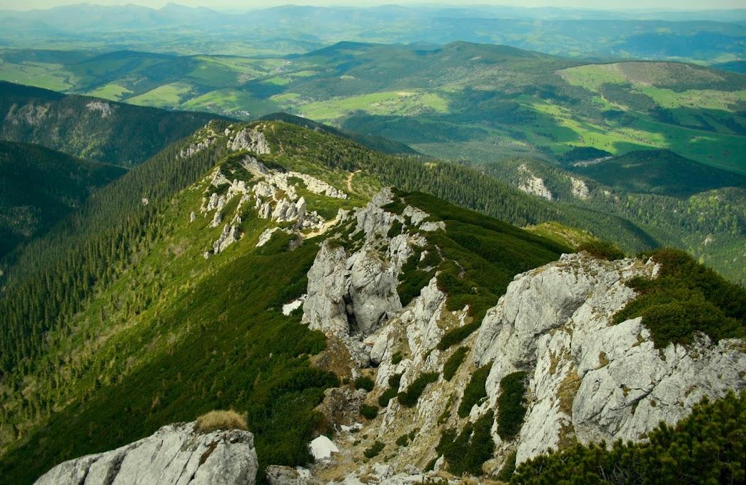 Szlak na Siwy Wierch