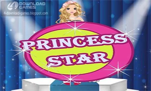 غلاف لعبة تلبيس الاميرة Princess Star Girls