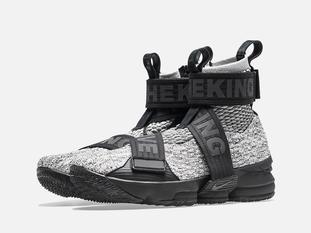 buy popular ae027 ceab4 Detailed Look at KITH X Nike LeBron 15 Lifestyle 'Concrete ...