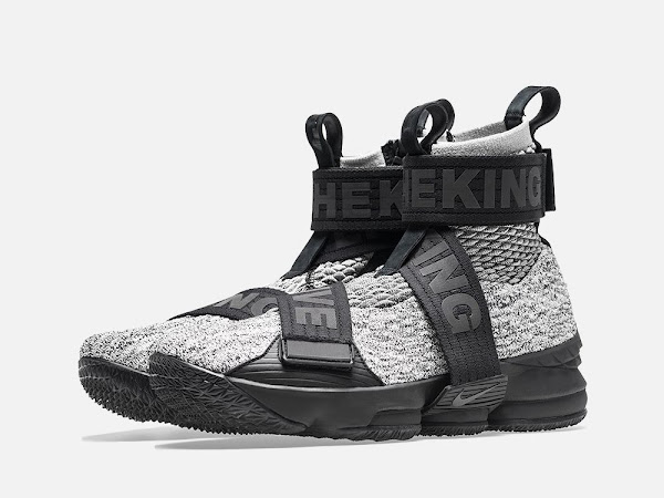 Detailed Look at KITH X Nike LeBron 15 Lifestyle Concrete