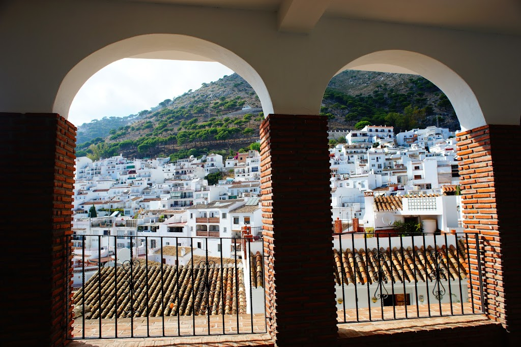 mijas white houses