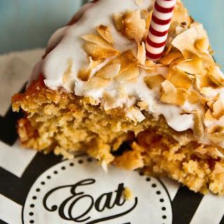Pina Colada Blondie Cake Recipe
