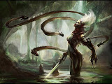 In Alien Forest With Sword