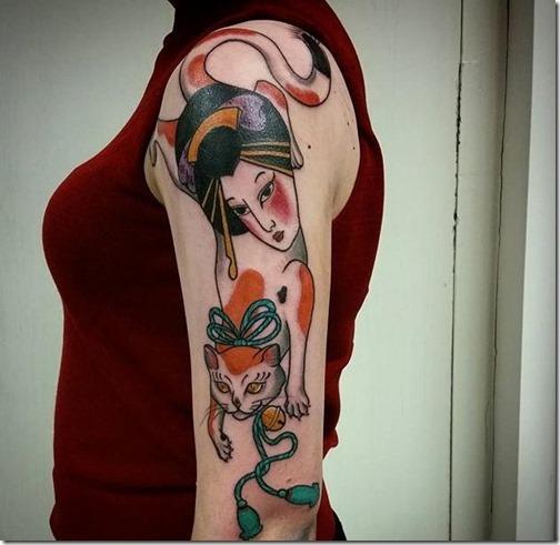 geisha_y_su_gatito_de_la_suerte