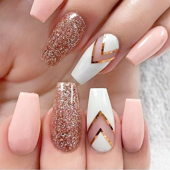 6 Latest Nail Paint Design 20182019 Fashion 2d