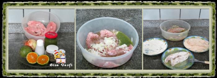 Peixe com molho de camarão 3