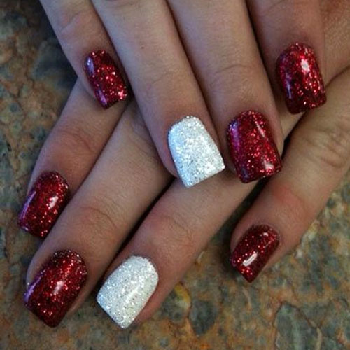 Christmas Nail Designs Nails Design Ideas View Images Art Red