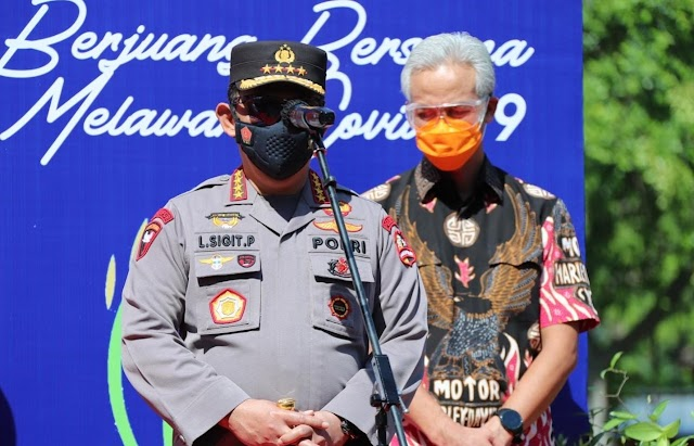 TNI-Polri Distribusikan 30.000 Paket Sembako untuk Warga Solo