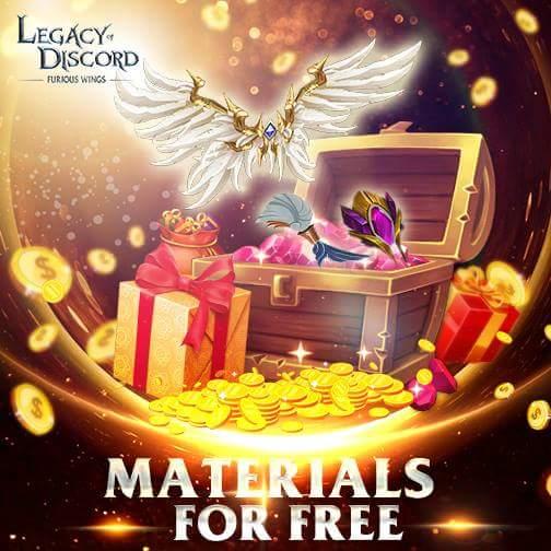 Legacy of Discord Gökyüzü Savaşları İçin Gerekli Malzemeleri Ücretsiz Veriyor