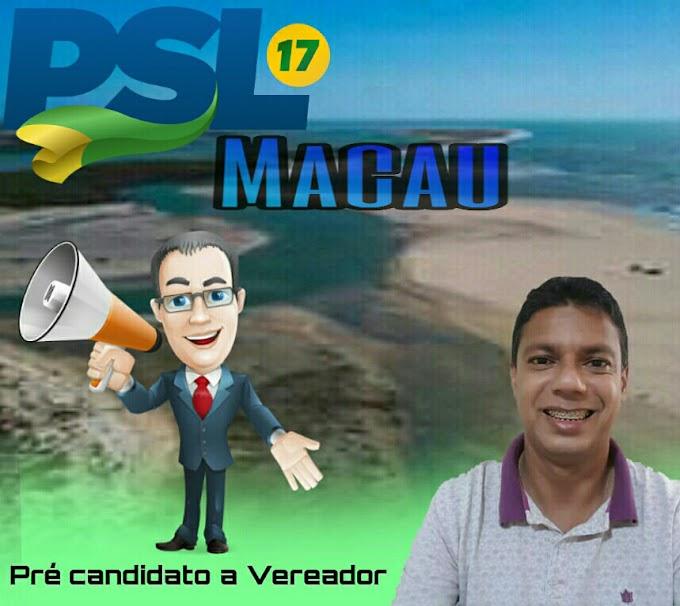 POLÍTICA: Ricardo Teodósio disputará o pleito eleitoral como pré-candidato a vereador pelo PSL; confira um pouco de sua história