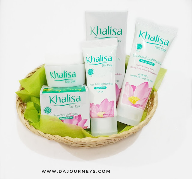 Khalisa Skincare Essential Lightening Series