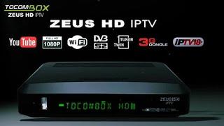 TOCOMBOX ZEUS HD IPTV NOVA ATUALIZAÇÃO V 3.055 - 04/11/2020