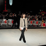 WWW.ENTSIMAGES.COM - Claudia Winkleman  arriving  at  Django Unchained - UK film premiere at Empire Cinema, Leicester Square,London January 10th 2013 Photo Mobis Photos/OIC 0203 174 1069