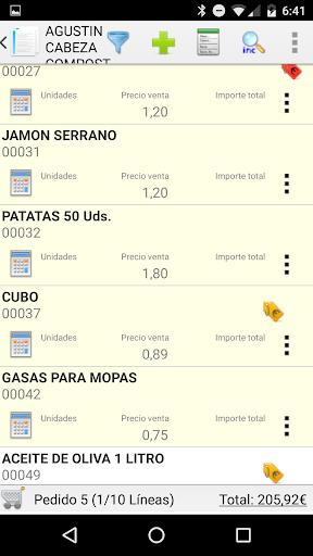 iGes: capturas de pantalla simples de facturación 3