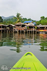 Kayaking on Klong Prao river