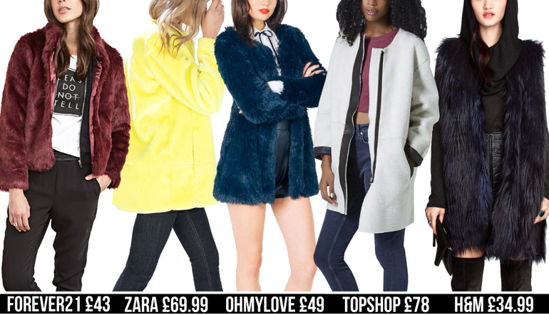 fur fashion high street winter coats