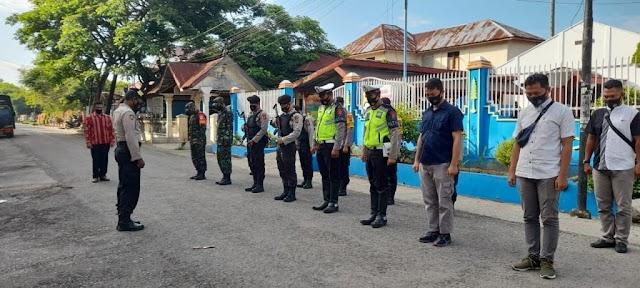 Jelang Paskah, Aparat TNI-POLRI Perketat Pengamanan di Kota Langsa
