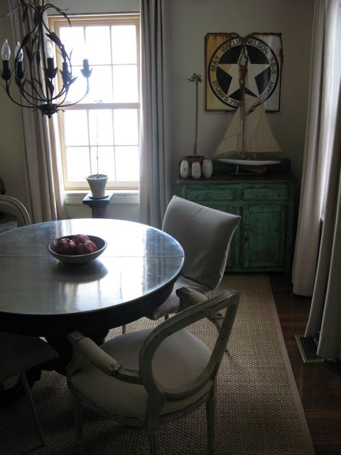 An Urban Cottage Dining Room