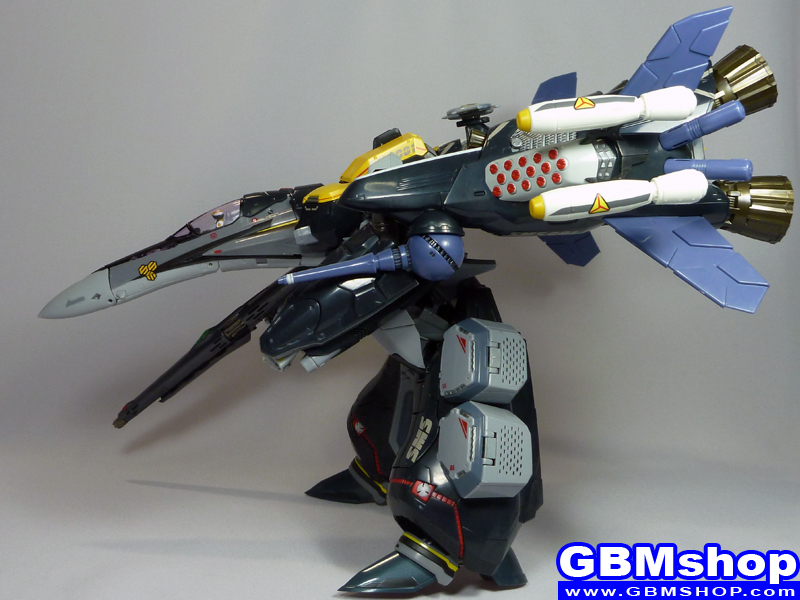 Macross Frontier VF-25S Armored Messiah with Reaction Missiles GERWALK Mode Renewal Version