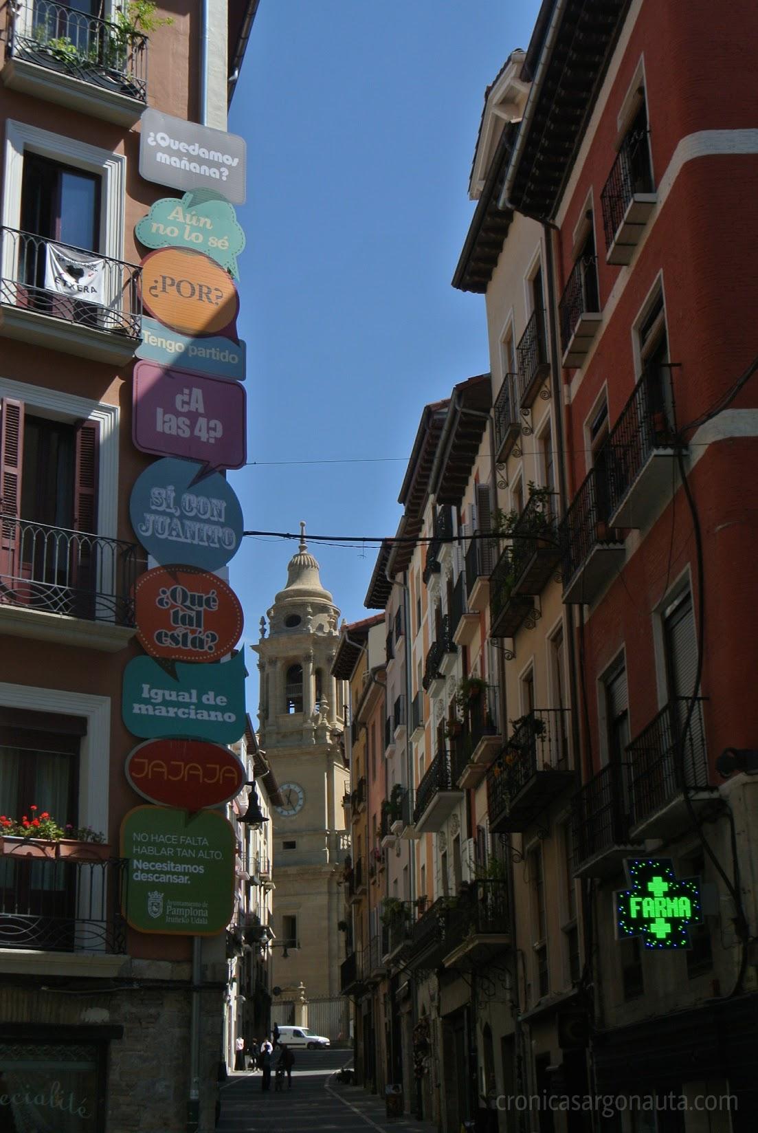 Silencio en Pamplona